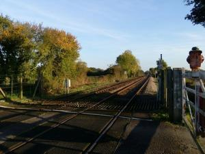 East Green Railway crossing