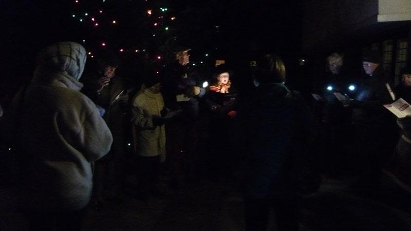 Christmas Carols around the tree at Kelsale Village Hall