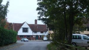 Kelsale village hall from the approach off Main Road